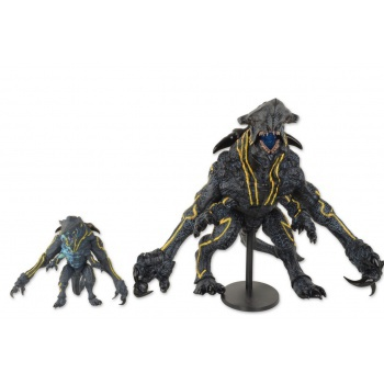 Pacific Rim Kaiju KNIFEHEAD Epic Scale Deluxe Action Figure w/LED-Light (Slightly damaged box)