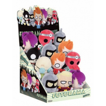 Funko Mopeez - Futurama - Plush 12cm Figures Display (12 mixed)