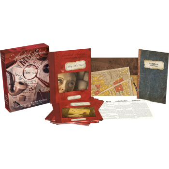 Jack the Ripper & West End Adventures: Sherlock Holmes Consulting Detective - EN