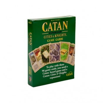 Catan: Cities & Knights Game Cards Accessories - EN
