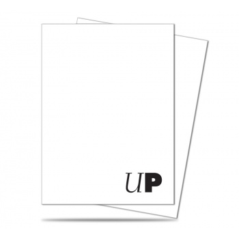 UP - Deck Protector Sleeves - Pro-Team White (50 Sleeves)