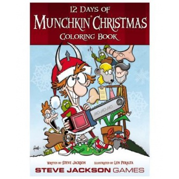 Munchkin - 12 Days of Christmas Coloring Book - EN