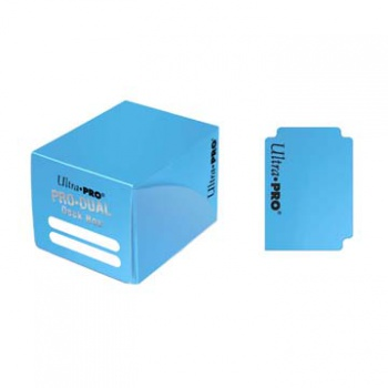 UP - Deck Box - Pro Dual Small - Light Blue