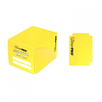 UP - Deck Box - Pro Dual Small - Yellow