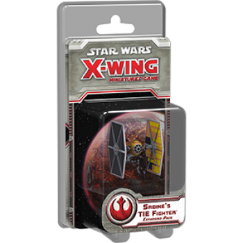 FFG - Star Wars X-Wing: Sabine's TIE Fighter Expansion Pack - EN