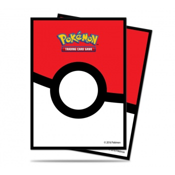 UP - Deck Protector Sleeves - Pokemon - Pokéball (65 Sleeves)