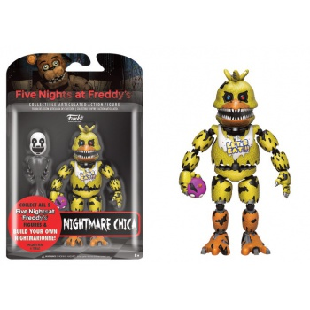 Funko Vinyl Collectible - Five Nights At Freddy's Nightmare Chica Articulated Action Figure 12cm