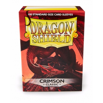 Dragon Shield Standard Sleeves - Crimson (100 Sleeves)