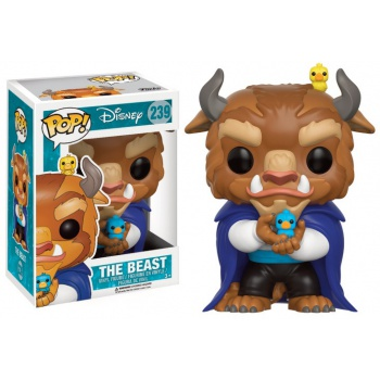 Funko POP! Disney Beauty And The Beast - Winter Beast with birds Vinyl Figure 10cm