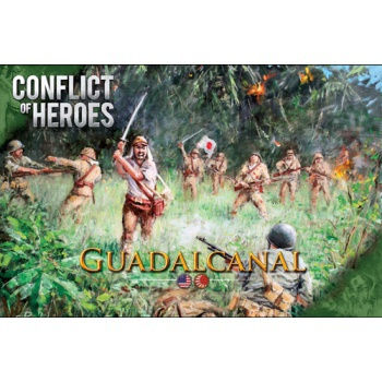 Conflict of Heroes: Guadalcanal - EN (Slightly damaged box)