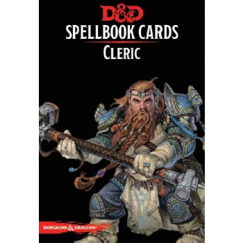 D&D Spellbook Cards - Cleric (149 Cards) - EN