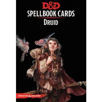 D&D Spellbook Cards - Druid (131 Cards) - EN