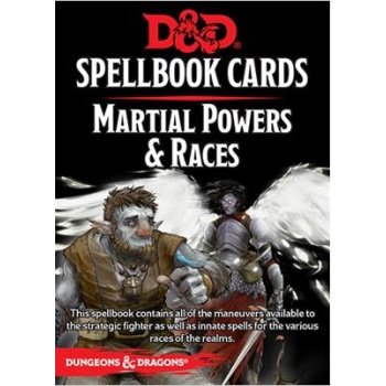 D&D Spellbook Cards - Martial Powers & Races (61 Cards) - EN