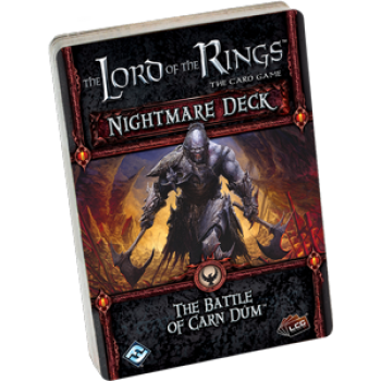 FFG - Lord of the Rings LCG: The Battle of Carn Dum Nightmare Deck - EN