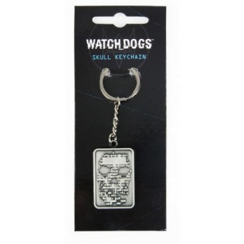 Watch Dogs Keychain - Skull
