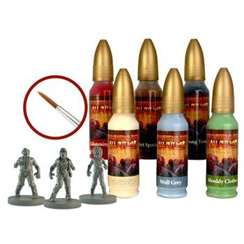 The Walking Dead: All Out War - The Walking Dead Walker Paint Set - EN