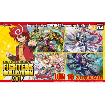 Cardfight!! Vanguard - Fighters Collection 2017 - Booster Display (10 Packs) - EN