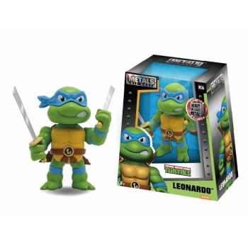 Metals Teenage Mutant Ninja Turtles - Leonardo Metal Die Cast Action Figure 10cm