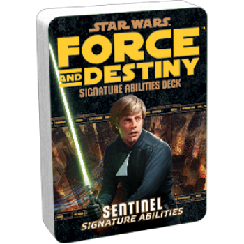 FFG - Star Wars RPG: Force and Destiny - Sentinel Signature Abilities Specialization Deck - EN