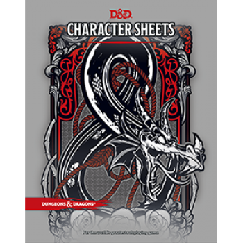 Dungeons & Dragons RPG - Character Sheets - EN