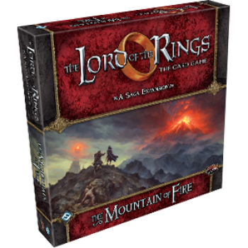 FFG - Lord of the Rings LCG: Mountain of Fire Saga Expansion - EN