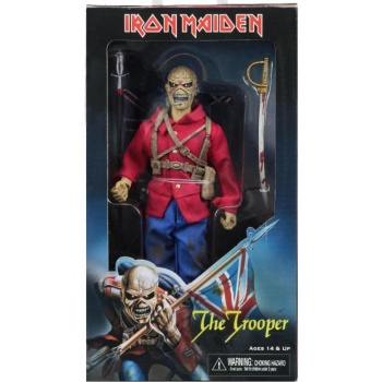 Iron Maiden - Eddie The Trooper - Clothed Retro Action Figure 21cm