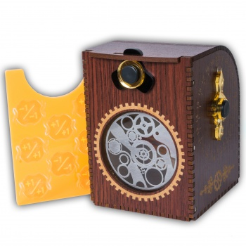 Blackfire Wooden Deck Case - Gears