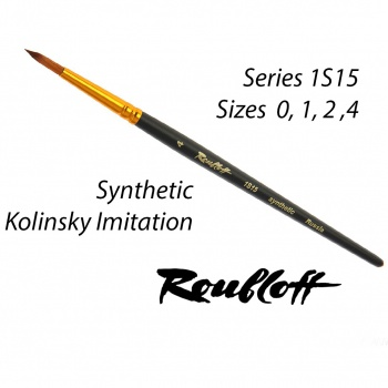 Roubloff Fine-Art Brush - 1S15-4 Large (Synthetic) (5 Pcs)