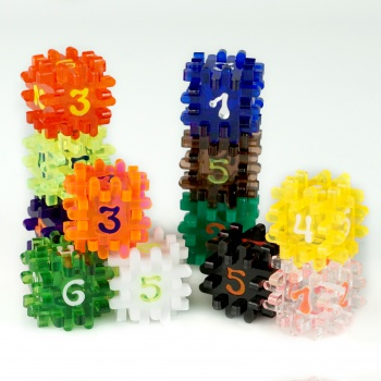 Blackfire Constructible Dice - Mega Set