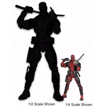 Marvel Comics - DEADPOOL 1/2th Scale Action Figure 91cm Limited Edition (1500 worldwide)