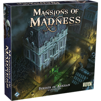 FFG - Mansions of Madness 2nd Edition: Streets of Arkham - EN