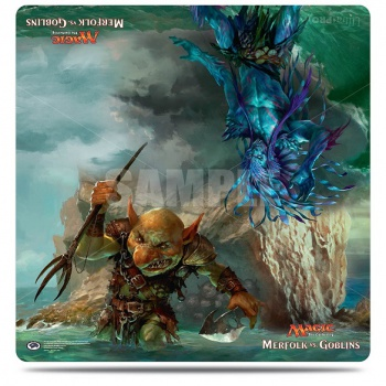 UP - Play Mat - Magic: The Gathering Duel Deck Merfolk vs Goblins