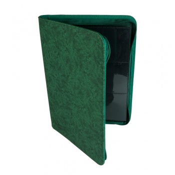 Blackfire Premium 9-Pocket Zip-Album - Green