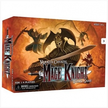 Mage Knight Board Game - EN (Slightly damaged box)