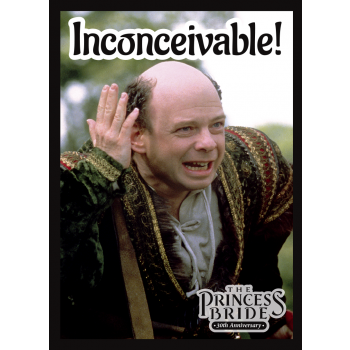 Legion - Standard Sleeves - Princess Bride: Inconcieveable (50 Sleeves)