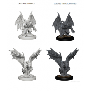 D&D Nolzur's Marvelous Unpainted Miniatures - Gargoyles (6 Units)