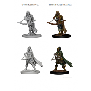 D&D Nolzur's Marvelous Unpainted Miniatures - Human Female Ranger (6 Units)