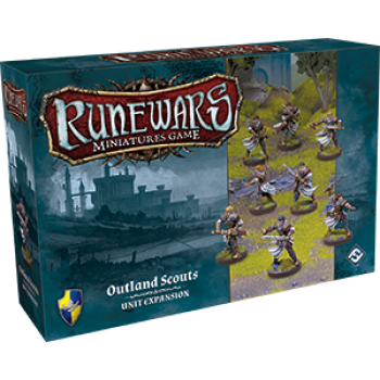 FFG - RuneWars: The Miniatures Game - Outland Scouts Unit Expansion - EN