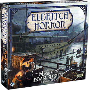 FFG - Eldritch Horror: Masks of Nyarlathotep - EN