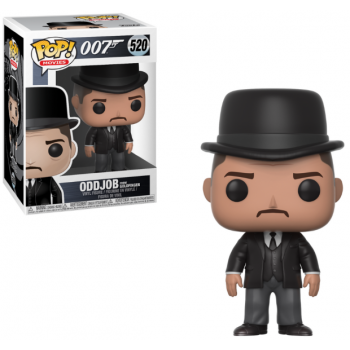 Funko POP! Movies James Bond - Goldfinger: Oddjob Vinyl Figure 10cm