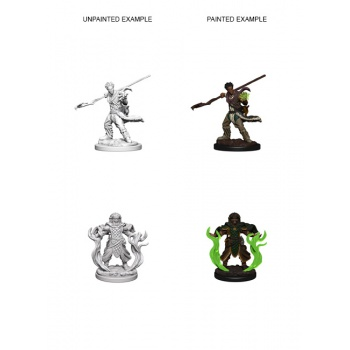 D&D Nolzur's Marvelous Miniatures - Human Male Druid (6 Units)