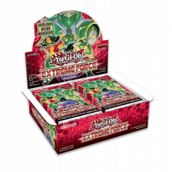 YGO - Extreme Force - Booster Display (24 Packs) - DE