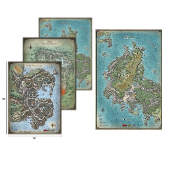 D&D: Tomb of Annihilation Map Set - EN