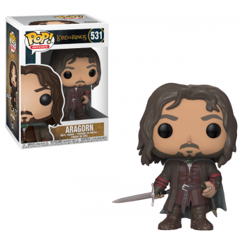 Funko POP! Movies LOTR/Hobbit - Aragorn Vinyl Figure 10cm