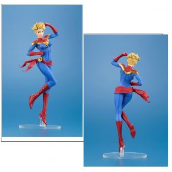 Bishoujo Collection Marvel Universe CAPTAIN MARVEL 1/7Scale PVC Statue 23cm
