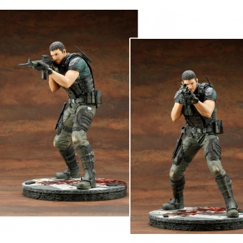Resident Evil: Vendetta ARTFX Series - CHRIS REDFIELD 1/6 Scale 29cm Statue