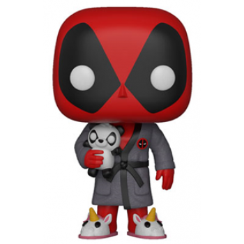 Funko POP! Deadpool Playtime - Deadpool in Robe Vinyl Figure 10cm