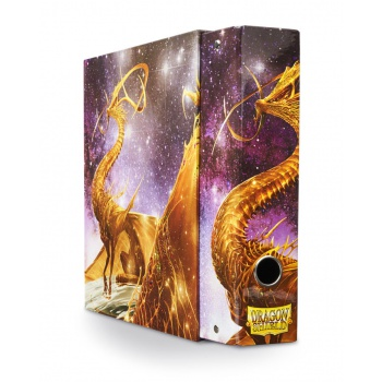 Dragon Shield Slipcase Binder - 'Glist' Gold