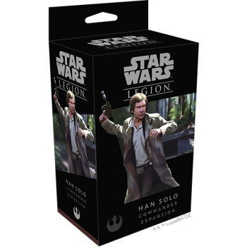 FFG - Star Wars Legion - Han Solo Commander Expansion - EN