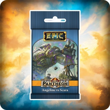 Epic Pantheon Gods: Angeline vs Scara Display (12 Packs) - EN